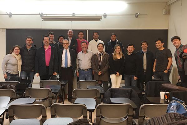 Aulas na Universidade de Girona – Espanha(Turma I) – Jan/2016