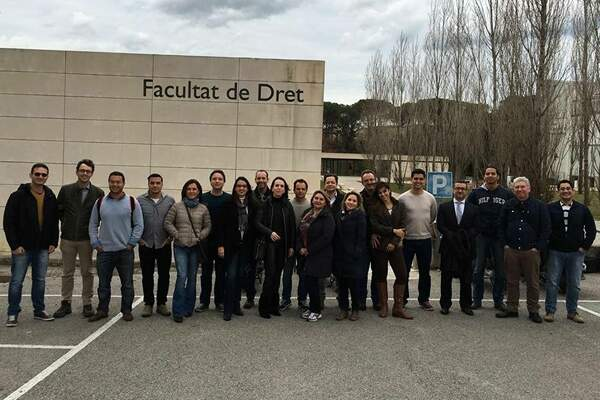 Aulas na Universidade de Girona – Espanha(Turma II) – Fev/2016