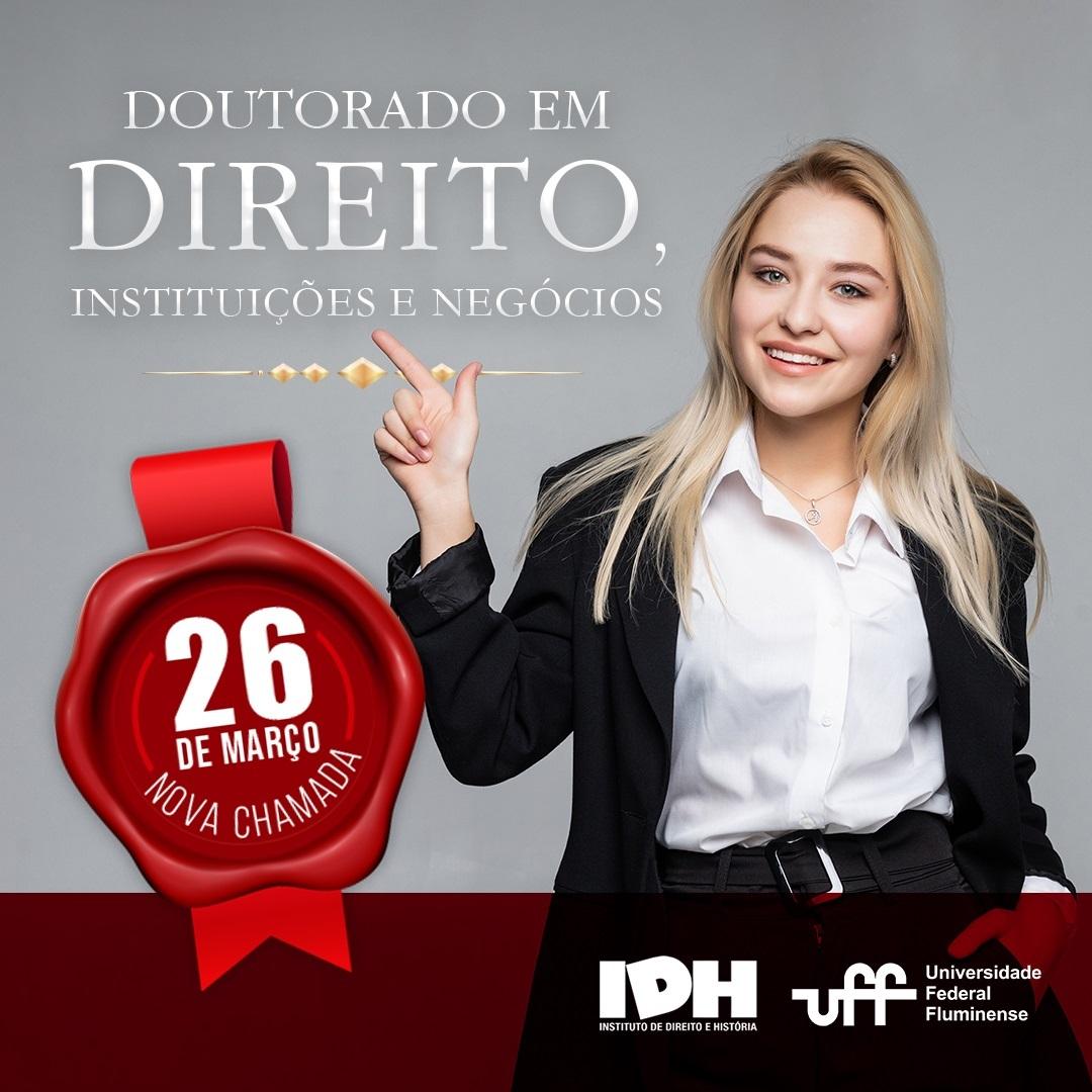 Doutorado em Direito da UFF terá aulas na Capital do Mato Grosso do Sul